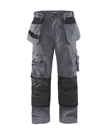Blaklader 1505 Floorlayer Trousers (Grey/Black)